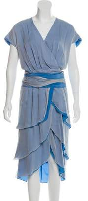 Peter Som Silk Knee-Length Dress