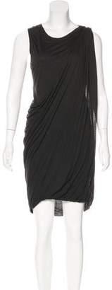 Yigal Azrouel Sleeveless Draped Dress