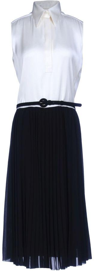 CelineCÉLINE 3/4 length dresses
