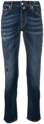 Jacob Cohen distressed slim jeans
