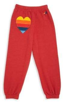 Aviator Nation Toddler's, Little Girl's& Girl's Applique Sweatpants