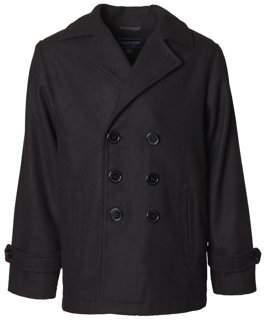 Cherokee Wool Blend Peacoat (Baby Boys & Toddler Boys)