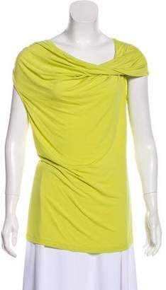 Lafayette 148 Sleeveless Cowl Neck Top