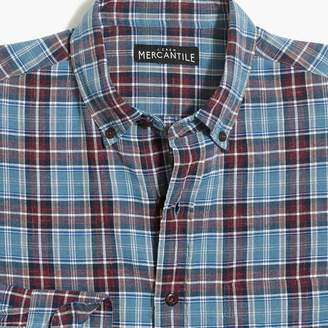J.Crew Factory Homespun shirt in plaid