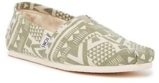 Toms Olivine Geo print Slip-On Shoe