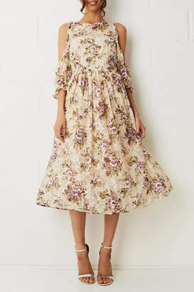 frontrow Floral Lace Dress
