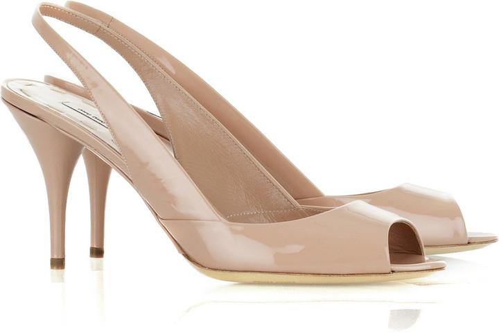 Miu Miu Patent slingback sandals