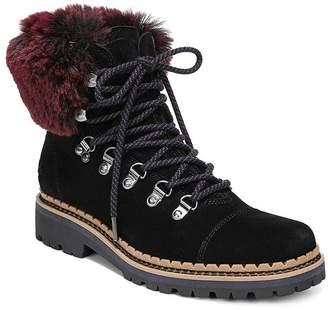 Sam Edelman Women's Bowen Fur & Suede Hiking Boots