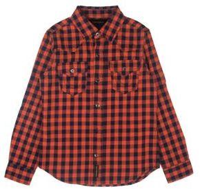 True Religion Boy's Buffalo Plaid Button-Front Shirt $59 thestylecure.com