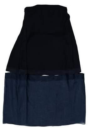 Stella McCartney Cutout Strapless Dress