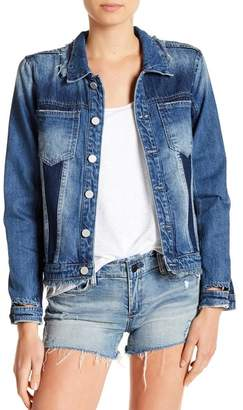 Blank NYC BLANKNYC Denim Patchwork Denim Jacket
