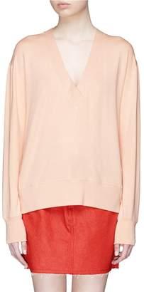 Rag & Bone 'Flora' modal-cotton V-neck sweater