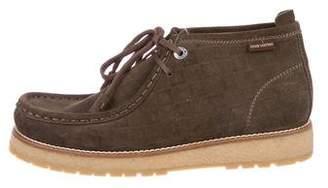 Louis Vuitton Damier Suede Boots