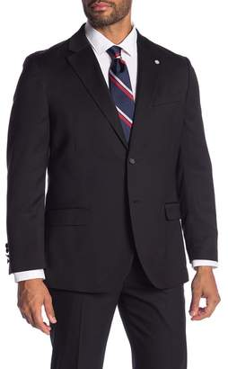 Nautica Front Two Button Solid Sport Coat