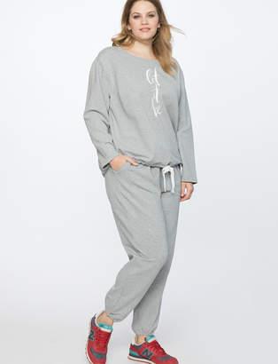 Comfy Heathered Pants