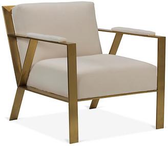 Robin Bruce Bergen Accent Chair - Bone White Crypton