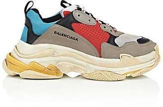 Balenciaga Men's Triple S Sneakers - Gray