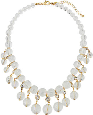 Fragments for Neiman Marcus Lucite® & Crystal Statement Necklace