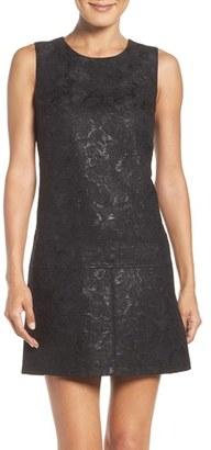 Women's Laundry By Shelli Segal Jacquard Drop Waist Dress $195 thestylecure.com