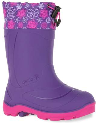 Kamik Snobuster2 Girls' Waterproof Winter Boots $42.99 thestylecure.com