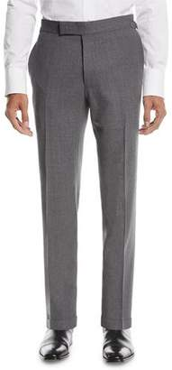 Tom Ford Fresco Textured Wool Trousers