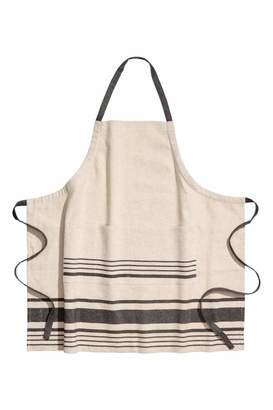 H&M Linen-blend Apron