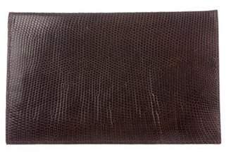 Mark Cross Vintage Lizard Wallet