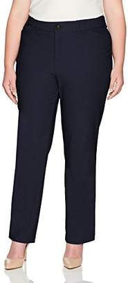 Lee Women's Plus-Size Motion Series Eden Career Straight Leg Pant