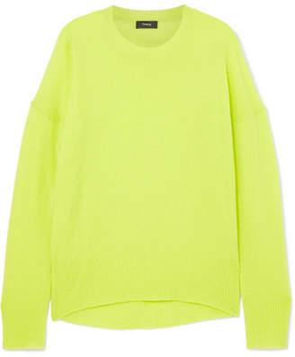 Theory Karenia Cashmere Sweater - Yellow