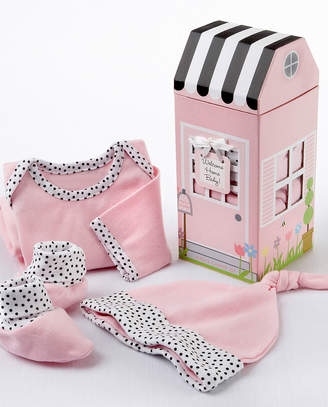 Baby Aspen Welcome Home Baby 3Pc Layette Set In Keepsake Gift Box