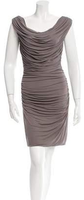 Derek Lam Sleeveless Ruched Dress