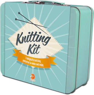 Smart Fox Knitting Tin