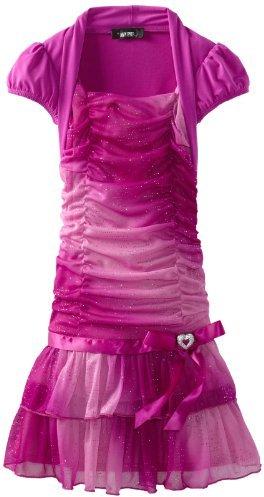 Amy Byer Girls 7-16 Two Tier Dress
