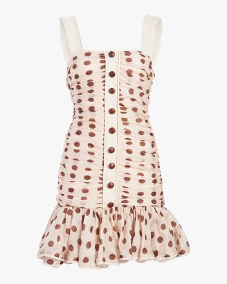 Zimmermann Corsage Ruche Mini Dress