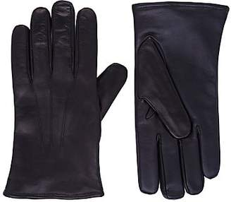 Barneys New York Men's Tech-Smart Gloves - Black