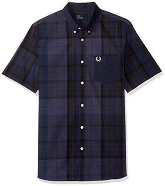 Fred Perry Men's Tonal Tartan Shirt