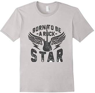 N. Born To Be Rock Star Tee - Rock Roll T-Shirt