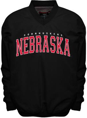 NCAA Men's Franchise Club Nebraska Cornhuskers Members Windbreaker Pullover