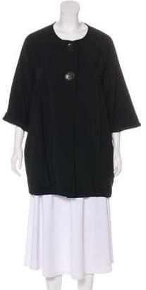 Hache Long Sleeve Short Coat