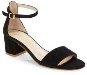 Free People Marigold Suede Sandal Heels