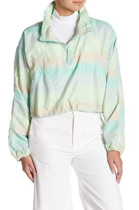 Free People Sienna Crop Zip Up Jacket