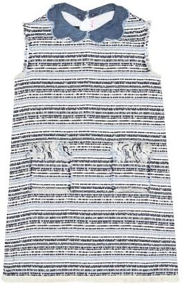 Il Gufo Cotton-blend boucle dress