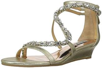 Badgley Mischka Women's Sierra Wedge Sandal