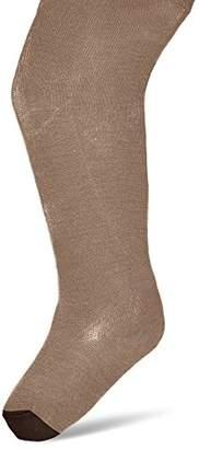 NECK & NECK Girl's 17I25301.61 Casual Socks, Multicolour (Light Brown/Dark Brown)
