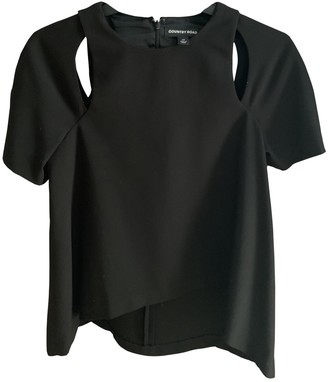 Country Road Black Top for Women