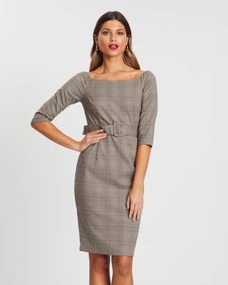 Forcast Massina Off-Shoulder Dress