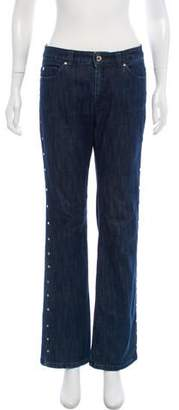 MICHAEL Michael Kors Mid-Rise Studded Jeans