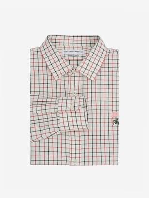 Alexander McQueen Tattersall Check Rose Shirt