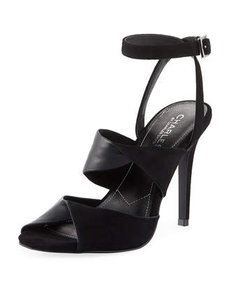 Charles by Charles David Radley Mixed Leather Sandal