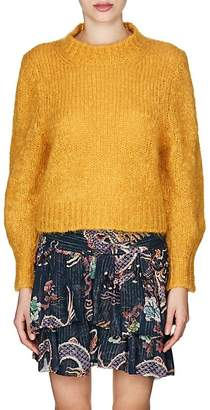 Isabel Marant Women's Ivah Wool-Blend Crop Sweater